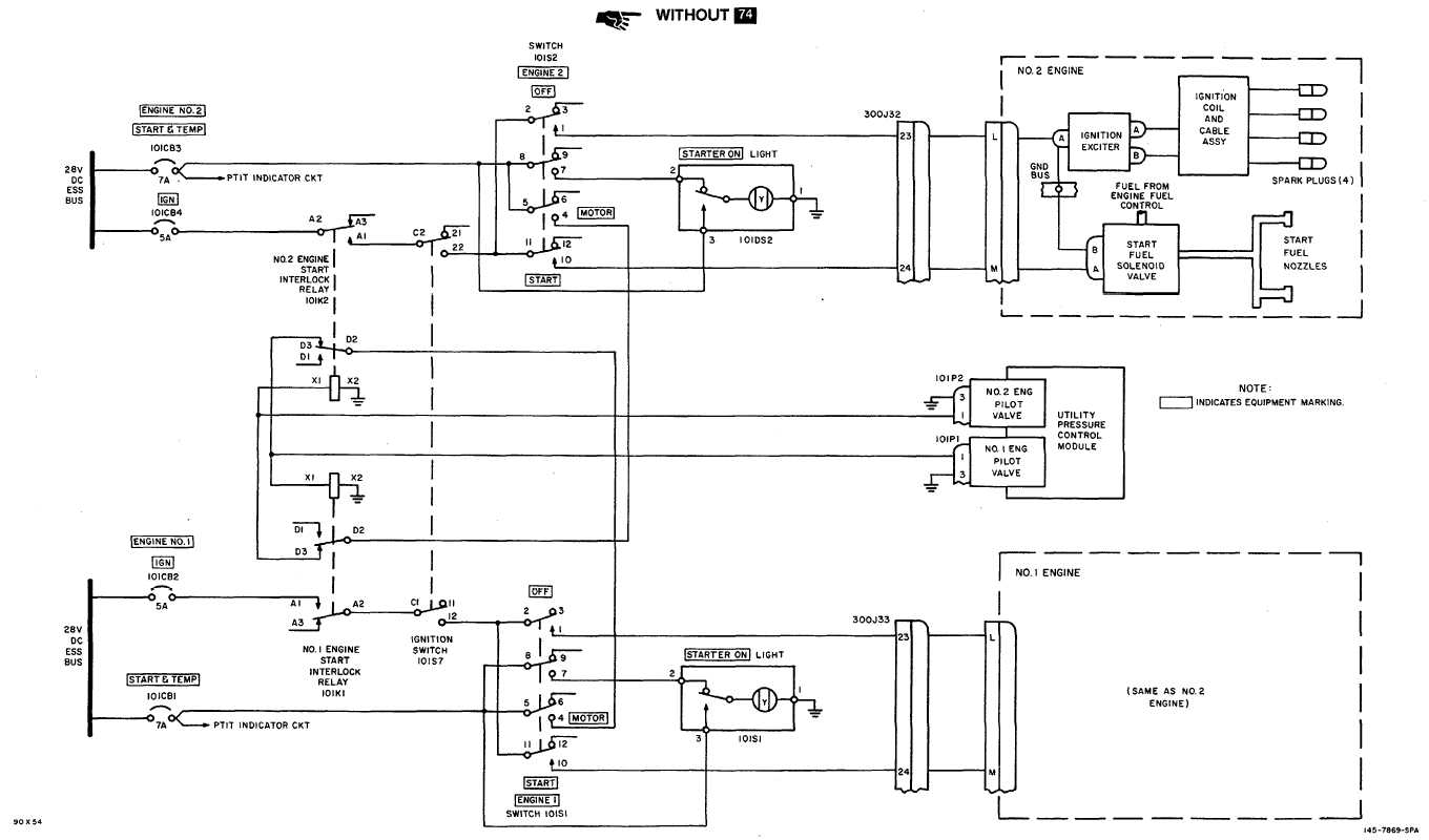 engine start and ignition system schematic diagram tm 55 1520 240 t 4 4 1 engine start and ignition system schematic diagram 4 4 1 end of task 4 52 change 17