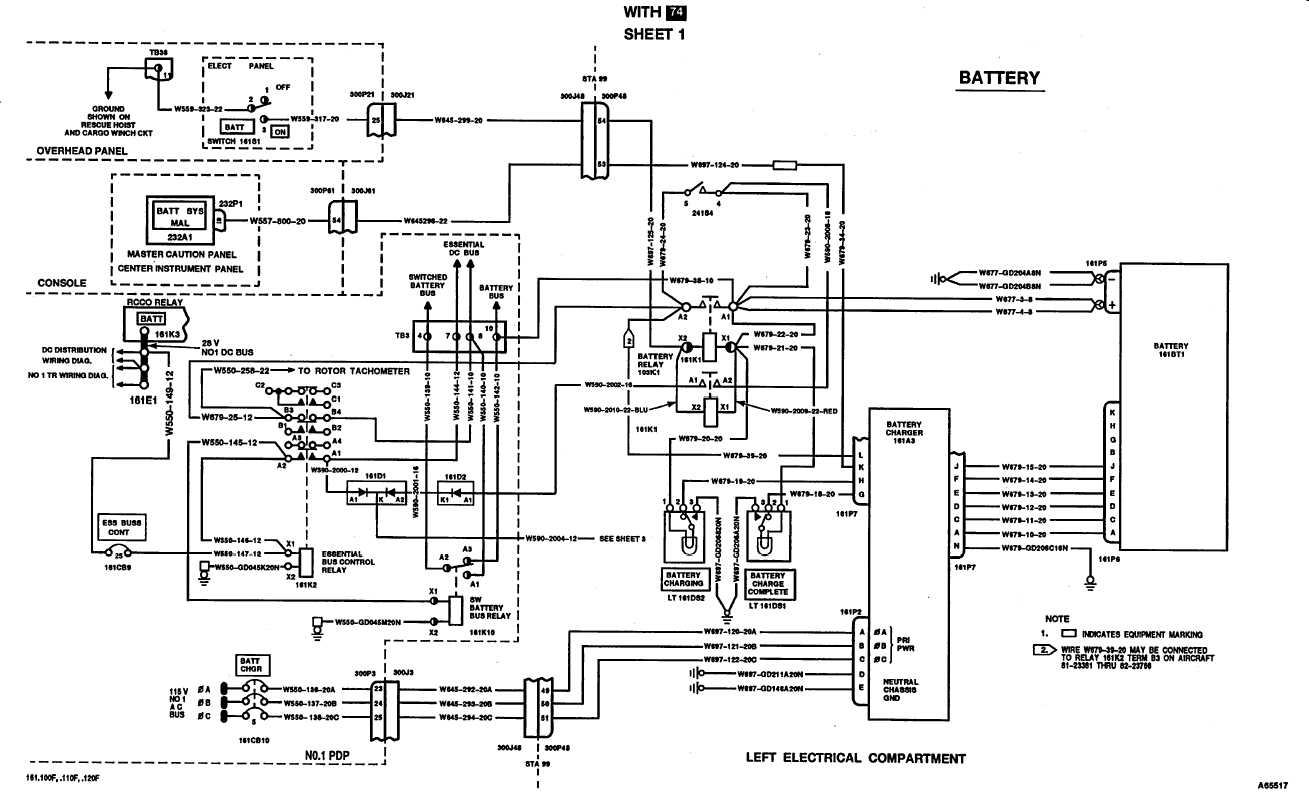 TM 55-1520-240-T 9-1.2.1 DC POWER SYSTEM WIRING DIAGRAM 9-1.2.1 GO TO NEXT  PAGE Change 19 9-6.3