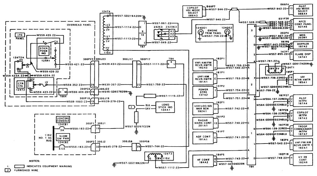 Wiring Diagram Panel Wlc : Console panel lights wiring diagram