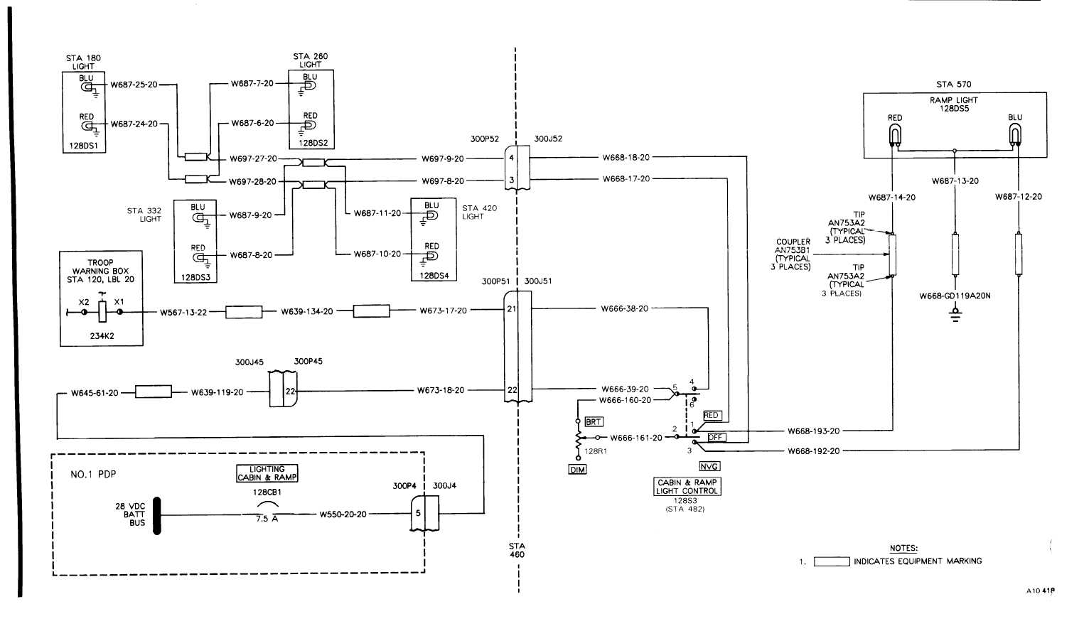 TM 55 1520 240 T 2_890_1 wiring diagram for massey ferguson 240 the wiring diagram cucv cabin wiring harness at gsmx.co