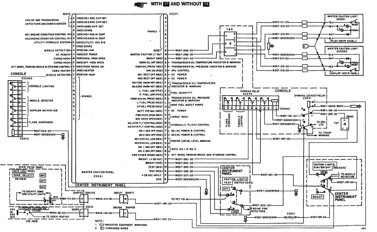 master caution lights wiring diagram tm 55 1520 240 t 2 944
