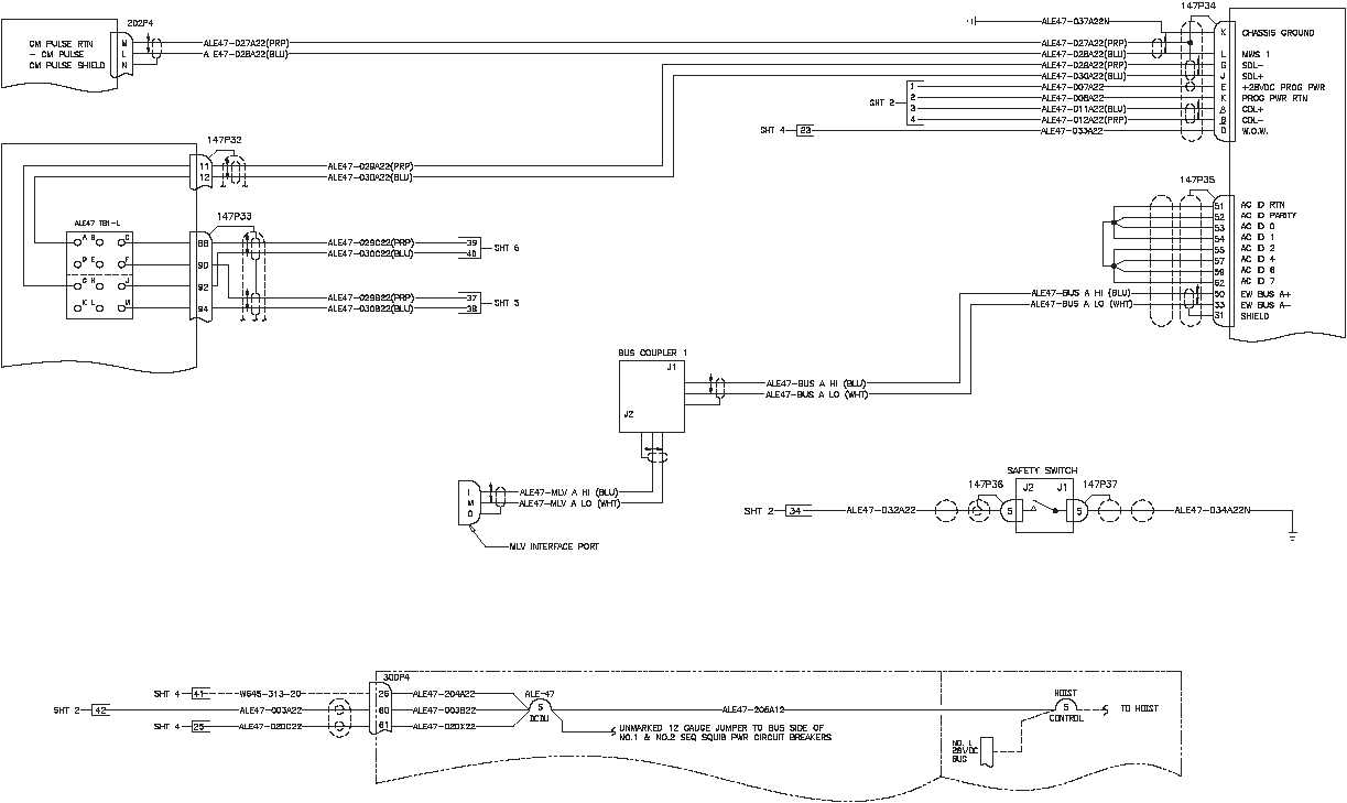 An Ale 47 Countermeasures Dispenser System Wiring Diagrams 240 To Main Box Diagram Tm 55 1520 T 16 184 Change 24 51 Continued Programmer J1 J2 Alq 156