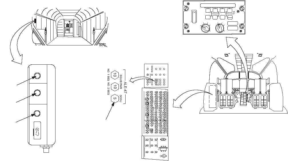 dcdu circuit breaker will not stay closed