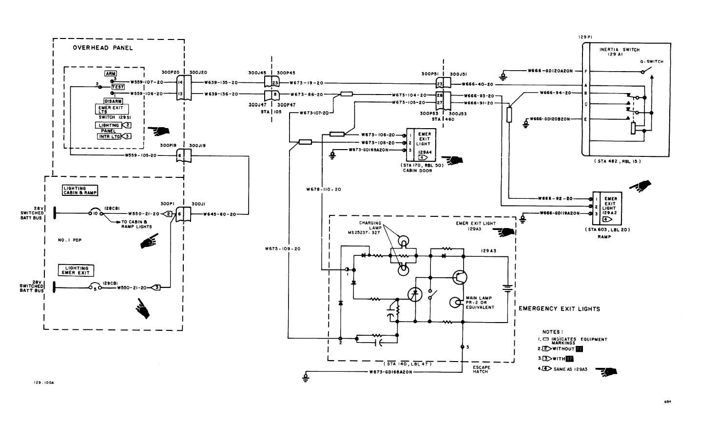 Wiring Diagram For Light : Emergency exit lights wiring diagram