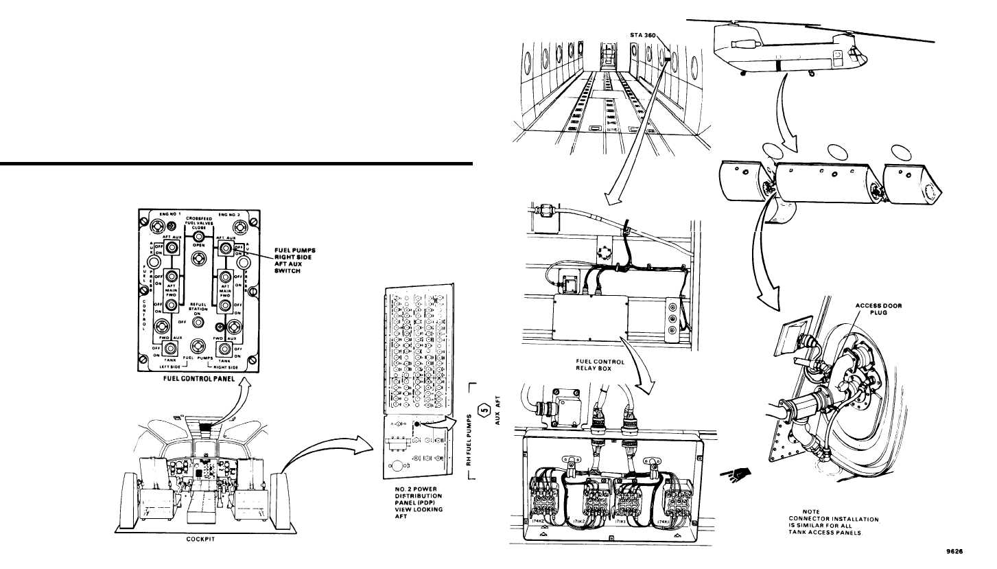 rh fuel pump aux aft circuit breaker will not stay closed