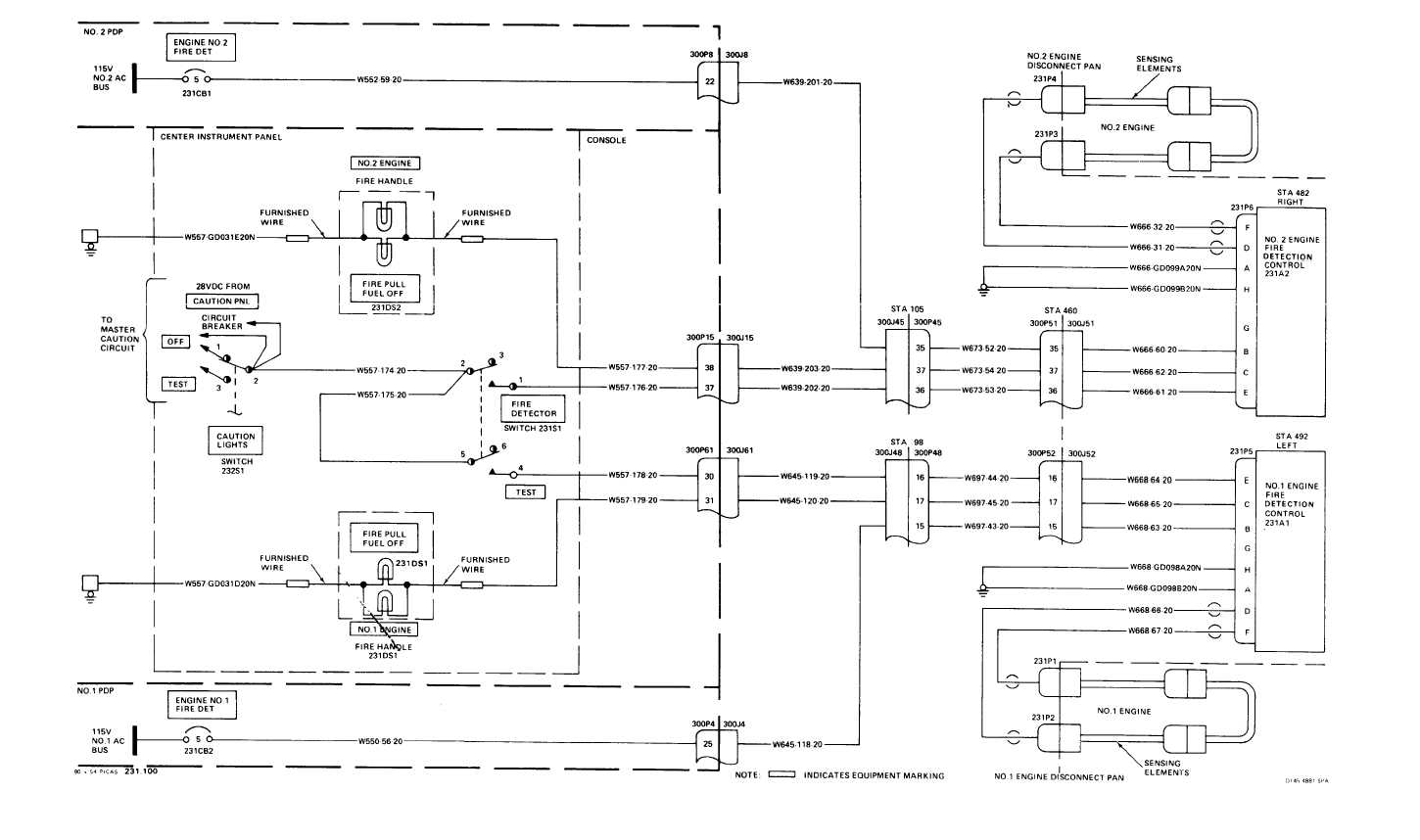 Fire Detection System Wiring Diagram