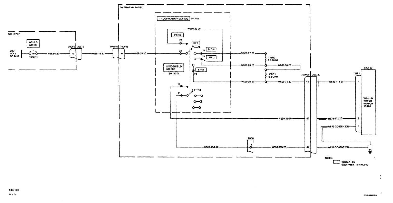 TM 55 1520 240 T 3_590_1 wiper wiring diagram f100 wiper motor wiring diagram \u2022 wiring 1999 ford explorer rear wiper wiring diagram at creativeand.co