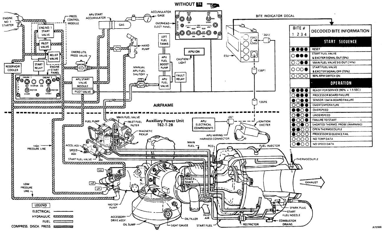 diesel engine components diagram