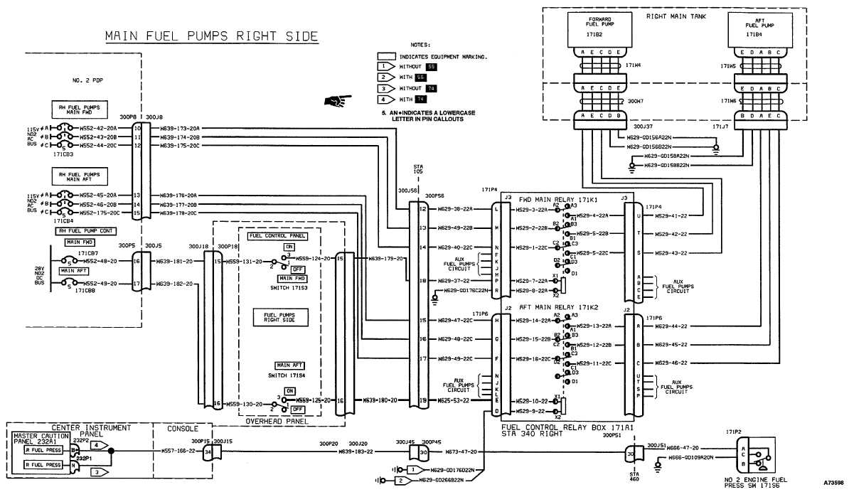 fuel boost pumps wiring diagram