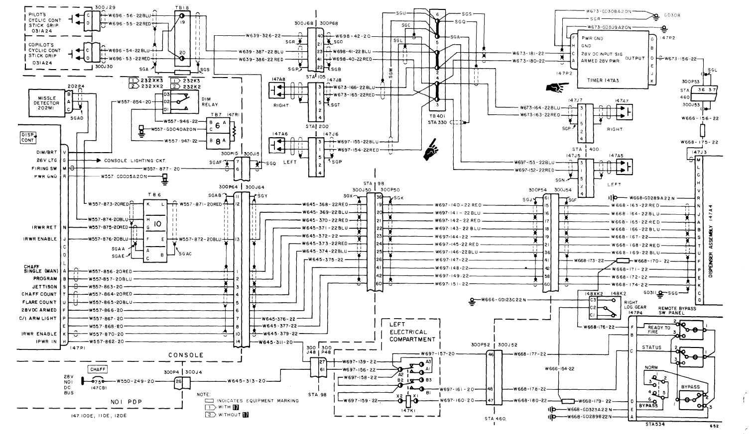 Flare Dispenser System Wiring Diagram
