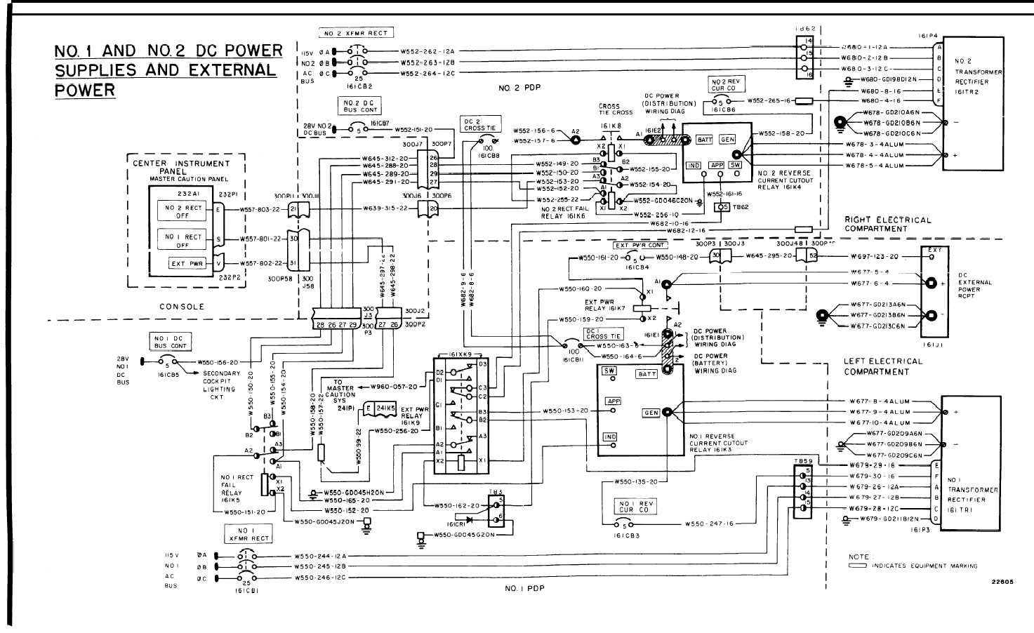 Dc Power System Wiring Diagram Tm 55 1520 240 T 3 968 2 Pdp 16 325 Helicopters With Engine Air Particle Separator Provisions 142 Change